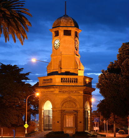 Taradale Clock Tower | Colonial Lodge Motel