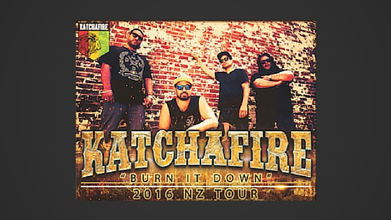 Coming this July: Katchafire Live at the Sideline Bar